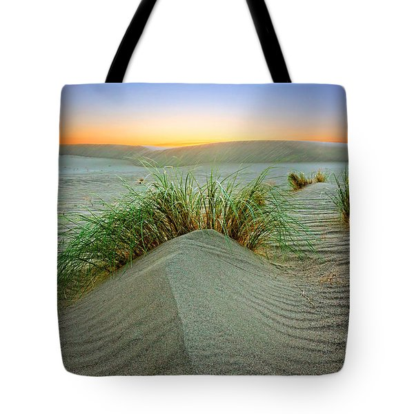 Dune Grass Of Bruneau Idaho Tote Bag by Martin Konopacki