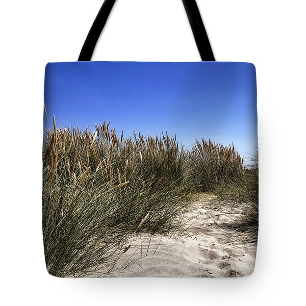 Dune Grasses Tote Bag by Shirley Mitchell