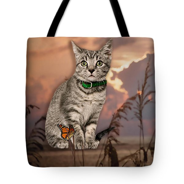 Dune Kitty Tote Bag