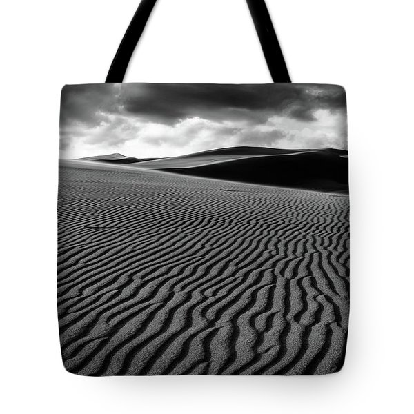 Tote Bag featuring the photograph Dune Lines by Stephen Holst