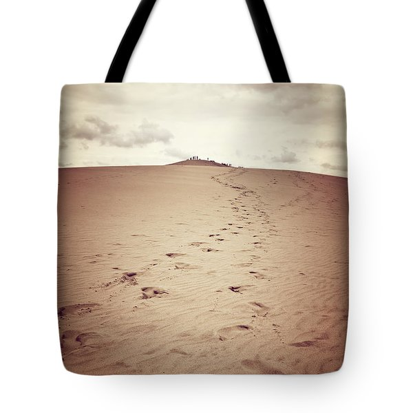 Dune Of Pilat, The Tallest Sand Dune In Europe Tote Bag