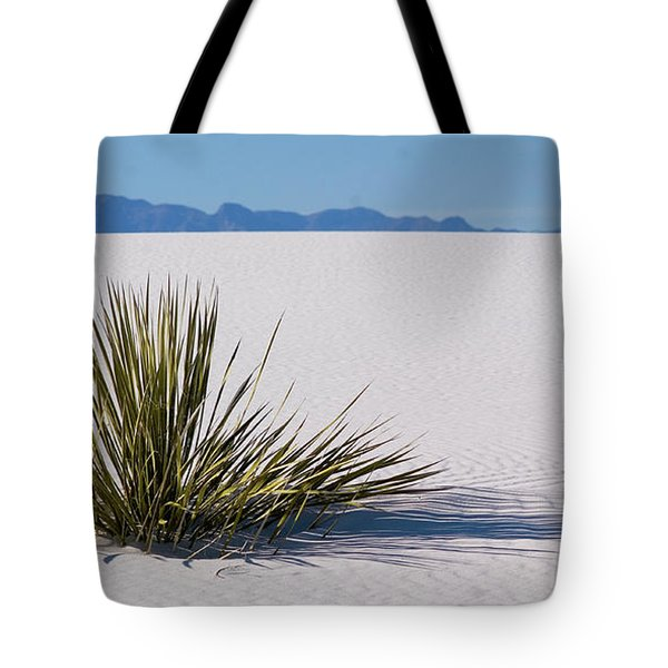 Tote Bag featuring the photograph Dune Plant by Marie Leslie