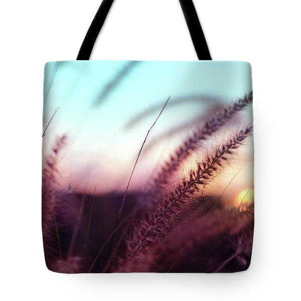 Dune Scape Tote Bag