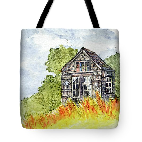 Dune Shack Tote Bag