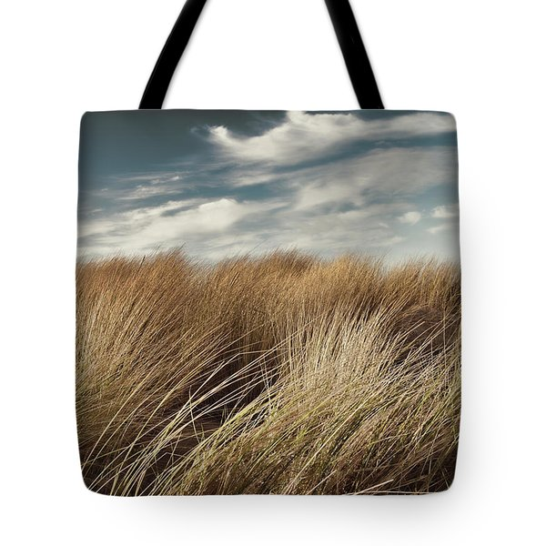 Dunes And Clouds Tote Bag