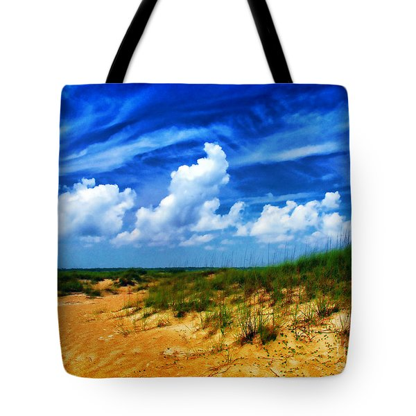 Dunes At Bald Head Island Tote Bag