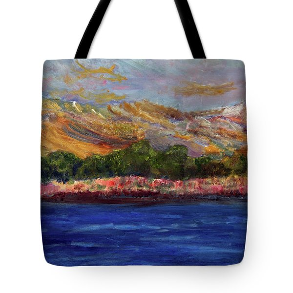 Dunes At Pilgrim Lake Tote Bag
