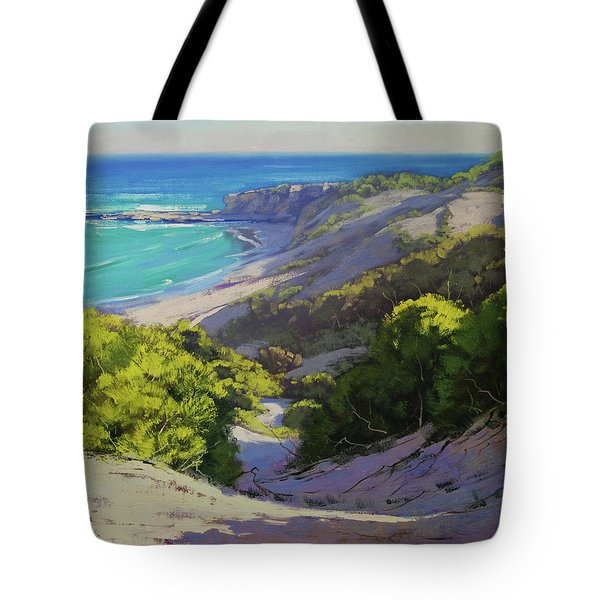 Dunes At Slodiers Beach Tote Bag