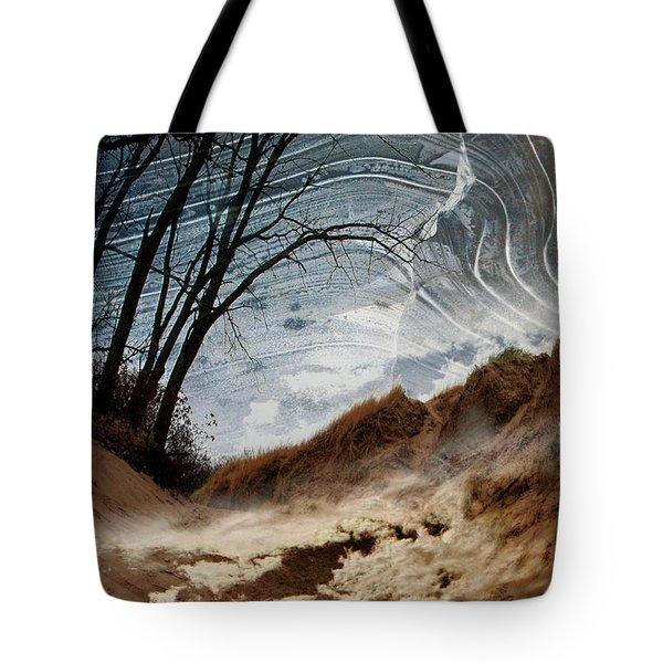 Dunes Tote Bag by Joan Ladendorf