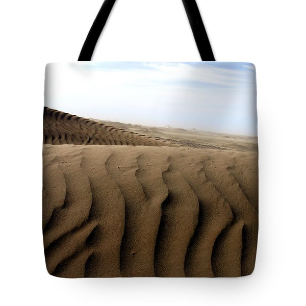 Dunes Of Alaska Tote Bag