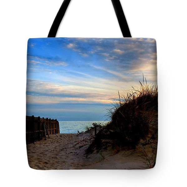 Dunes On The Cape Tote Bag by Joann Vitali