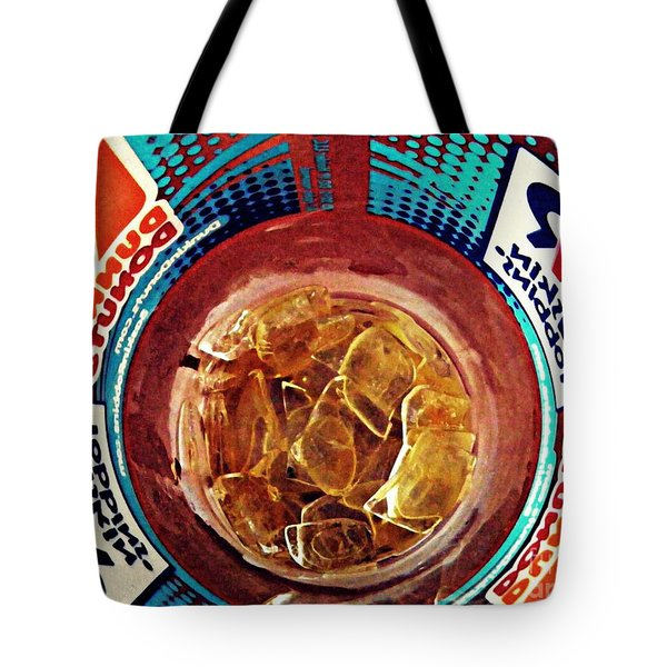 Dunkin Ice Coffee 19 Tote Bag