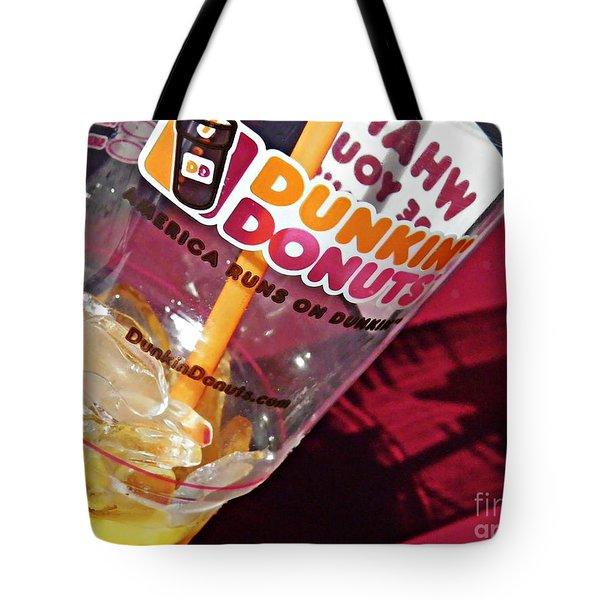 Dunkin Ice Coffee 29 Tote Bag