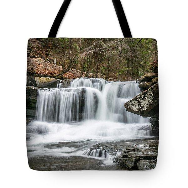 Dunloup Creek Falls Tote Bag
