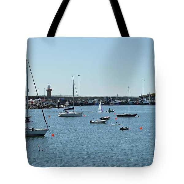Dunmore East Harbour. Tote Bag