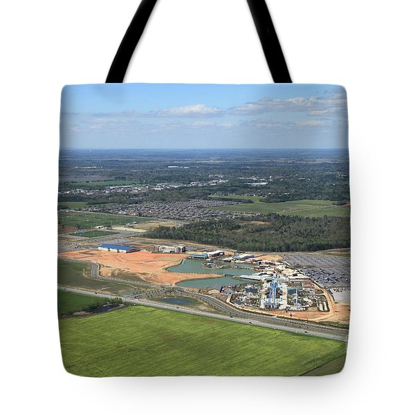 Tote Bag featuring the photograph Dunn 7654 by Gulf Coast Aerials -