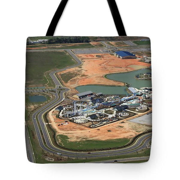 Tote Bag featuring the photograph Dunn 7666 by Gulf Coast Aerials -