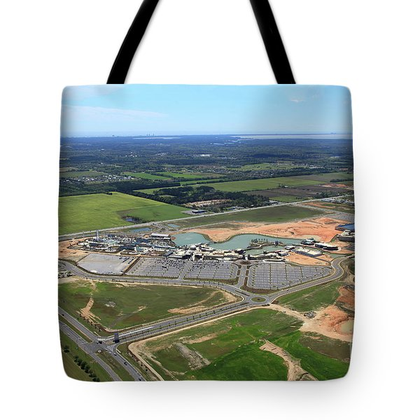 Tote Bag featuring the photograph Dunn 7673 by Gulf Coast Aerials -