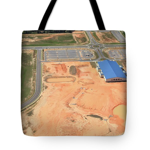 Tote Bag featuring the photograph Dunn 7780 by Gulf Coast Aerials -