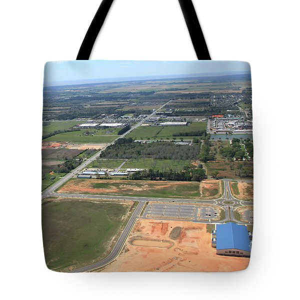 Tote Bag featuring the photograph Dunn 7783 by Gulf Coast Aerials -