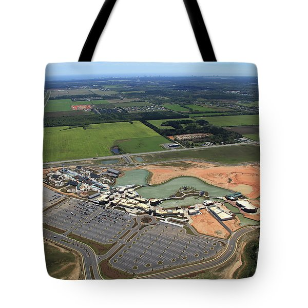 Tote Bag featuring the photograph Dunn 7786 by Gulf Coast Aerials -