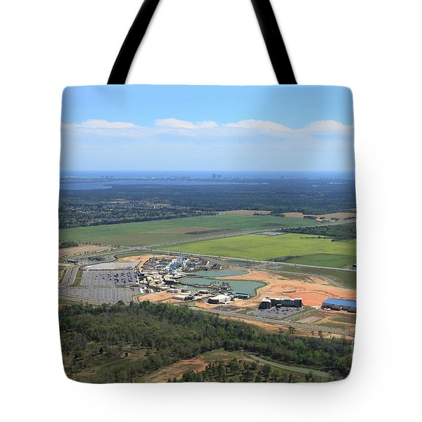 Tote Bag featuring the photograph Dunn 7805 by Gulf Coast Aerials -