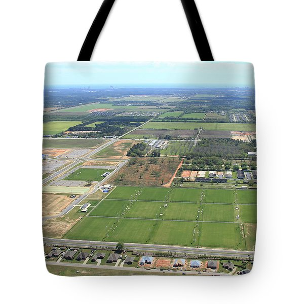 Tote Bag featuring the photograph Dunn 7808 by Gulf Coast Aerials -