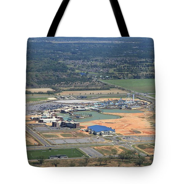 Tote Bag featuring the photograph Dunn 7831 by Gulf Coast Aerials -