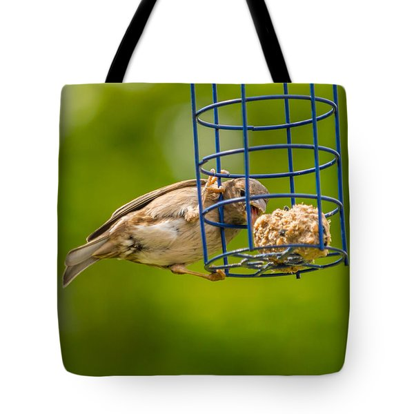 Dunnok Eating Tote Bag