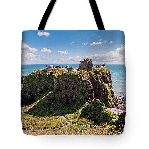 Dunnotar Castle Tote Bag
