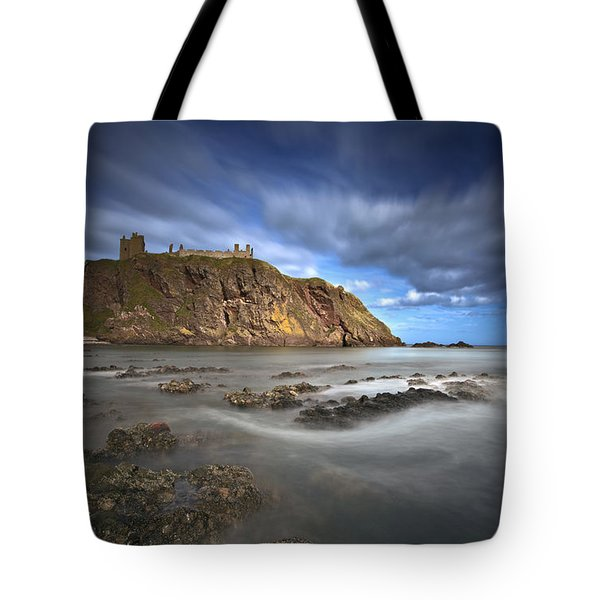 Dunnottar Castle Tote Bag by Roddy Atkinson