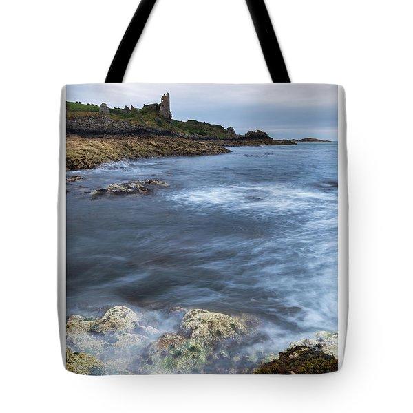 Dunure Castle Scotland  Tote Bag