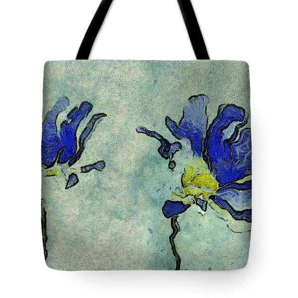 Duo Daisies - 02dp3b22 Tote Bag by Variance Collections