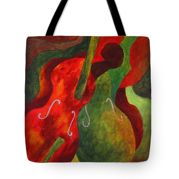 Duo Fiddles Tote Bag