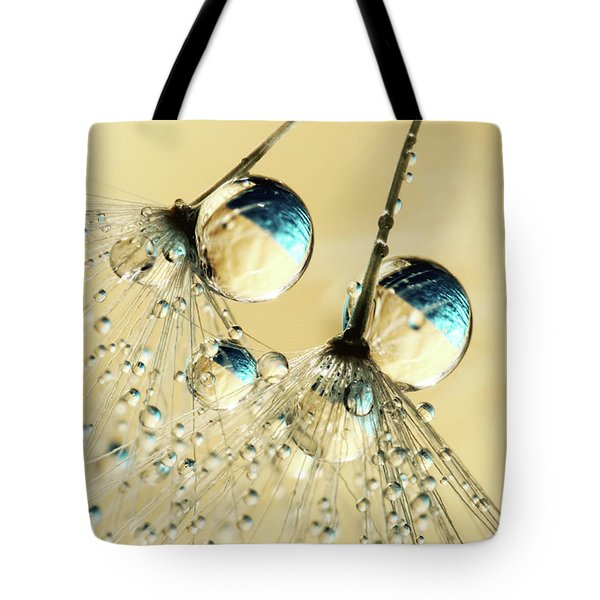 Duo Shower Dandy Drops Tote Bag