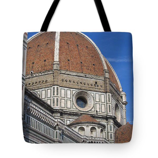 Duomo Cathedral Florence Italy  Tote Bag by Lisa Boyd