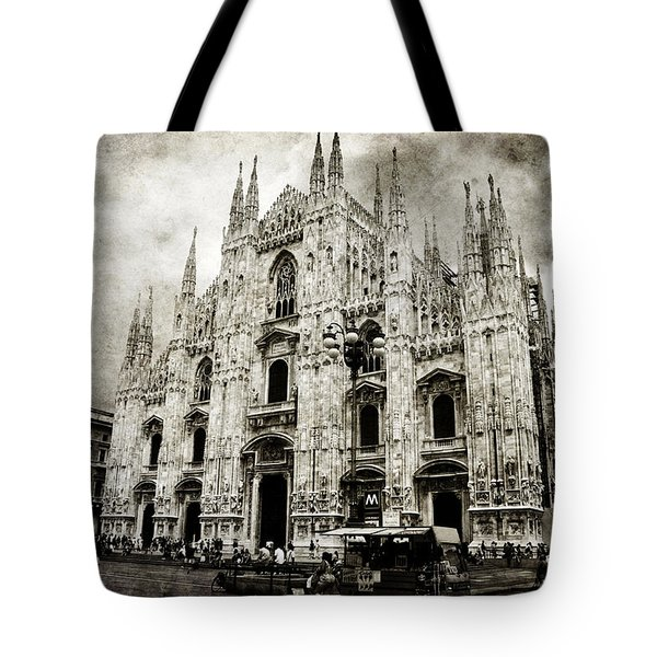 Tote Bag featuring the photograph Duomo Di Milano by Laura Melis