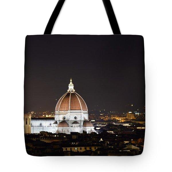 Duomo Illuminated Tote Bag