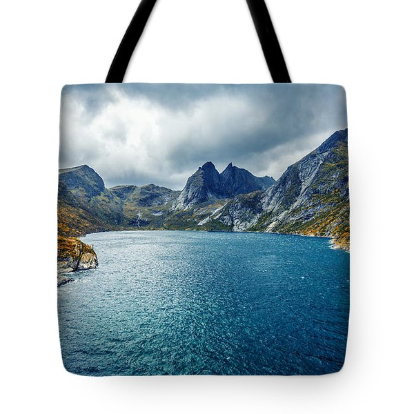 Tote Bag featuring the photograph Dupfjorden by James Billings
