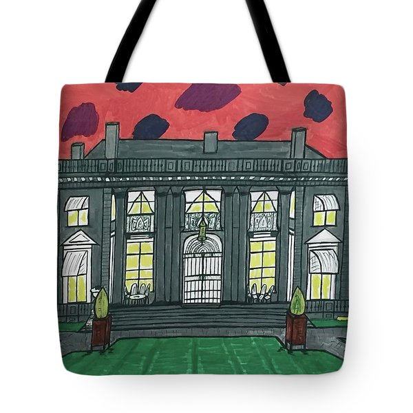 Dupont Family Mansion. Tote Bag