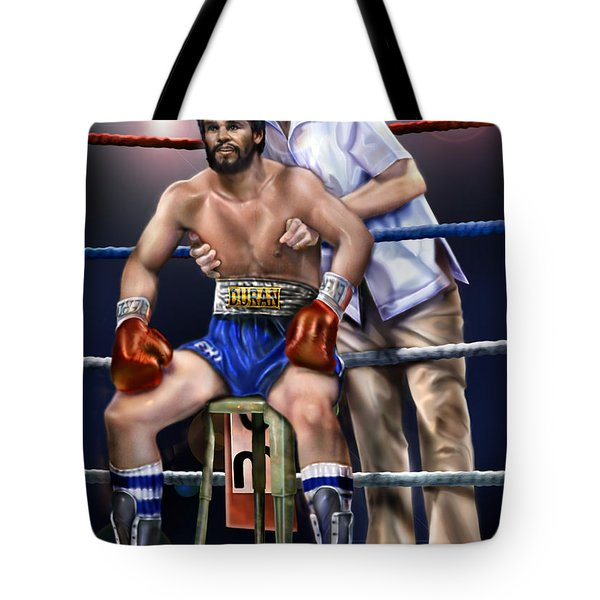 Duran Hands Of Stone 1a Tote Bag