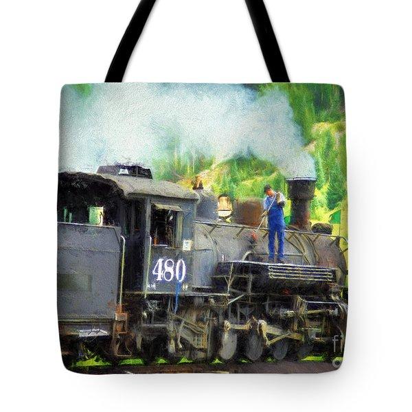 Durango And Silverton 480 Tote Bag