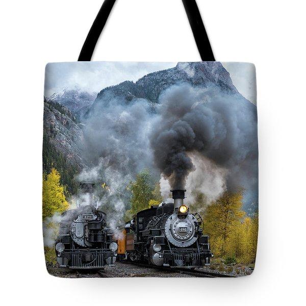 Durango Silverton Train Tote Bag
