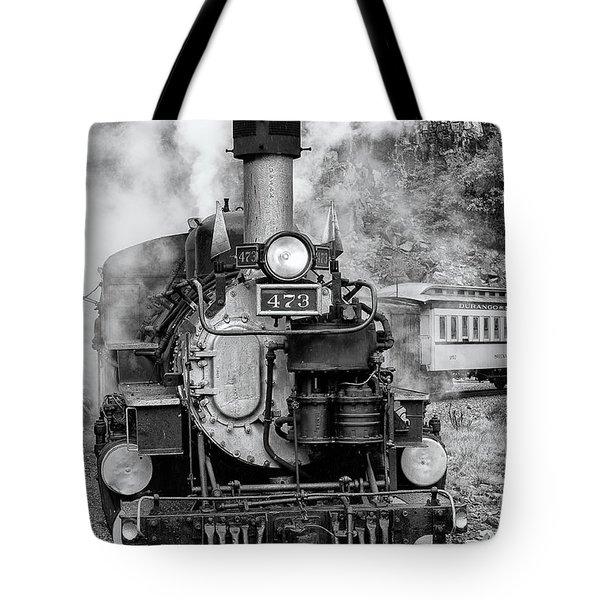 Durango Silverton Train Engine Tote Bag