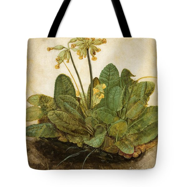 Durer Tuft Of Cowslips Tote Bag by Granger