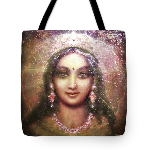 Vision Of The Goddess - Durga Or Shakti Tote Bag