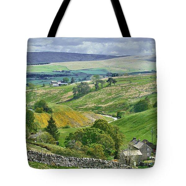 Durham Dales Countryside - Weardale Tote Bag