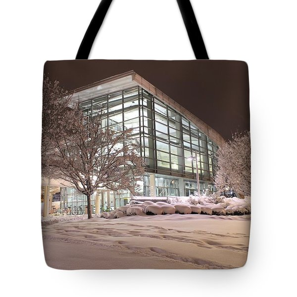 Tote Bag featuring the photograph Durham Station by Ben Shields