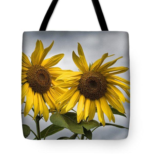 Durham Sunflowers Tote Bag
