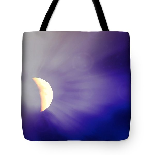 Aries Moon During The Total Lunar Eclipse 3 Tote Bag